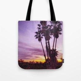 Graffiti Palms Tote Bag
