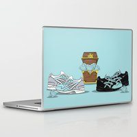 saga Laptop & iPad Skins featuring Diamond Gel Lyte V & Saga by RaymondDesignz