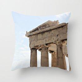 Parthenon. Throw Pillow