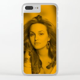 Leighton Meester Clear iPhone Case