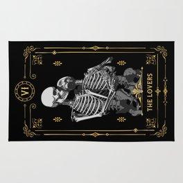 The Lovers VI Tarot Card Rug