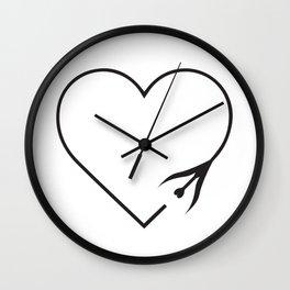 Love Travels Wall Clock