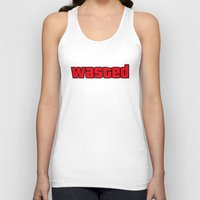wasted rita Tank Tops featuring Wasted by TxzDesign