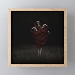 The Devil's On Your Shoulder Framed Mini Art Print