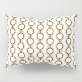 Retro-Delight - Conjoined Circles - Frost Pillow Sham