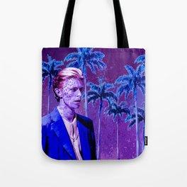 Bowie Cat Tote Bag