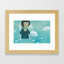 Drown Framed Art Print