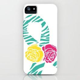 Endometriosis Ribbon 3 iPhone Case
