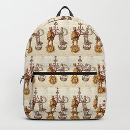 Sun and Moon King and Queen Pattern Backpack
