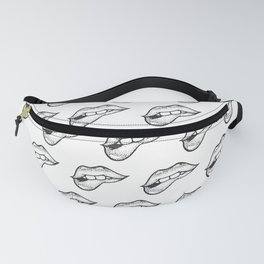 Kissing Lips Fanny Pack