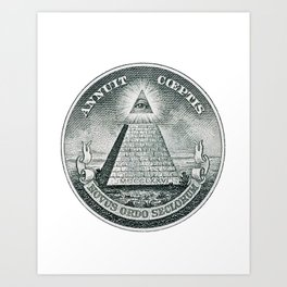 The Great Seal Art Print