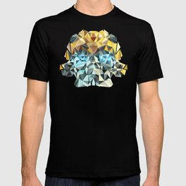 Bumblebee Low Poly Portrait T-shirt