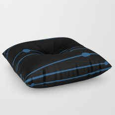 Deep Water Floor Pillow