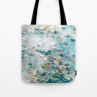 secret life Tote Bags featuring Secret Life of Winter by Jessica Torrant