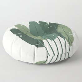 Cat and Plant 18 Floor Pillow
