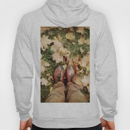Shoes And Leaves Hoody