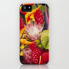Tropical Arrangement #2 iPhone Case