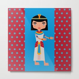Old Egyptians walking  Metal Print