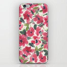 Red Poppy Dance iPhone Skin