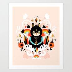 Rainbow Queen Art Print