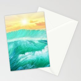 Light in a storm Stationery Cards