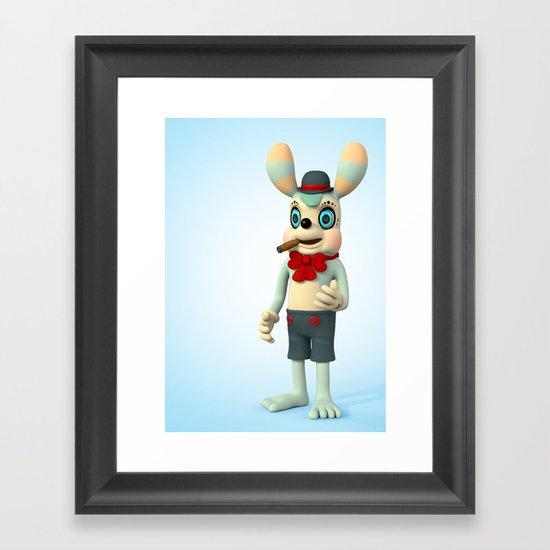 Marv Framed Art Print