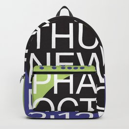 New Moon - Oct 19, 2017 Backpack