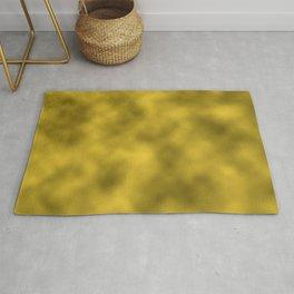 Gold Foil Smooth Metal Texture Festive / Christmas Rug