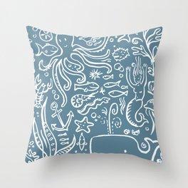 sealife  Throw Pillow