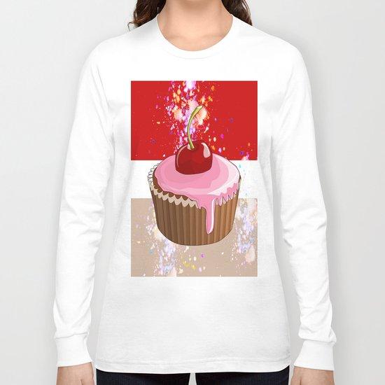 Cupcake-1 Long Sleeve T-shirt