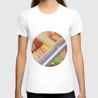 macarons T-shirts featuring Macarons galore by in my closet
