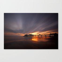 Cromer Pier Sunrise Canvas Print