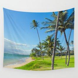Waipuilani Beach Kihei Maui Hawaii Wall Tapestry