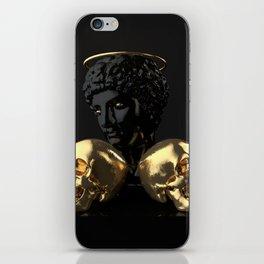 Black iPhone Skin