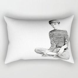 Jean Seberg Rectangular Pillow