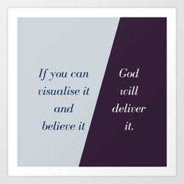 Vision Art Print