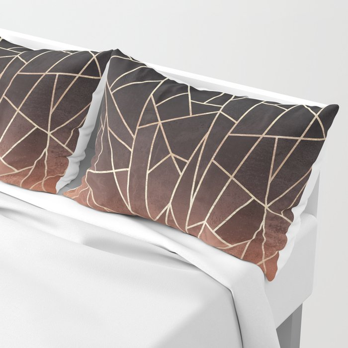 Shattered Ombre Pillow Sham