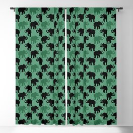 Angry Animals - Elephant Blackout Curtain