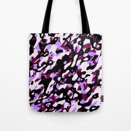 Purple Camo Tote Bag