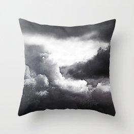 Darken Throw Pillow