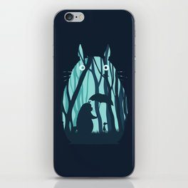 My Neighbor Totoro's iPhone Skin