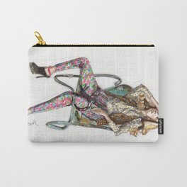Floral Fashion Carry-All Pouch