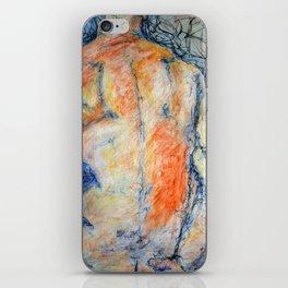Colored Man iPhone Skin