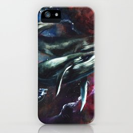 I love the human being, the sea, and the ship iPhone Case