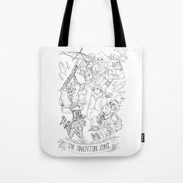 The Adventure Zone: Tres Horny Boys Tote Bag