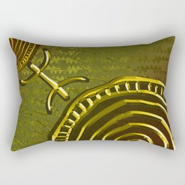 Ancestral Ornament 2C Rectangular Pillow