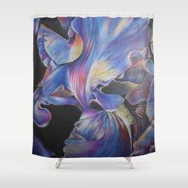 Iris 1 Shower Curtain