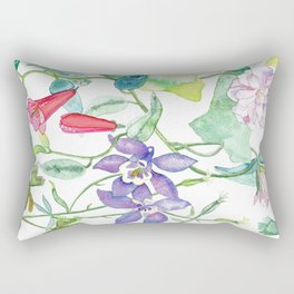 En el jardin Rectangular Pillow