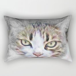 Artistic Animal Cat Rectangular Pillow