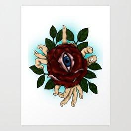 divine eye Art Print